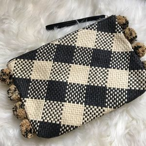New A New Day Woven Straw Wristlet Clutch Target